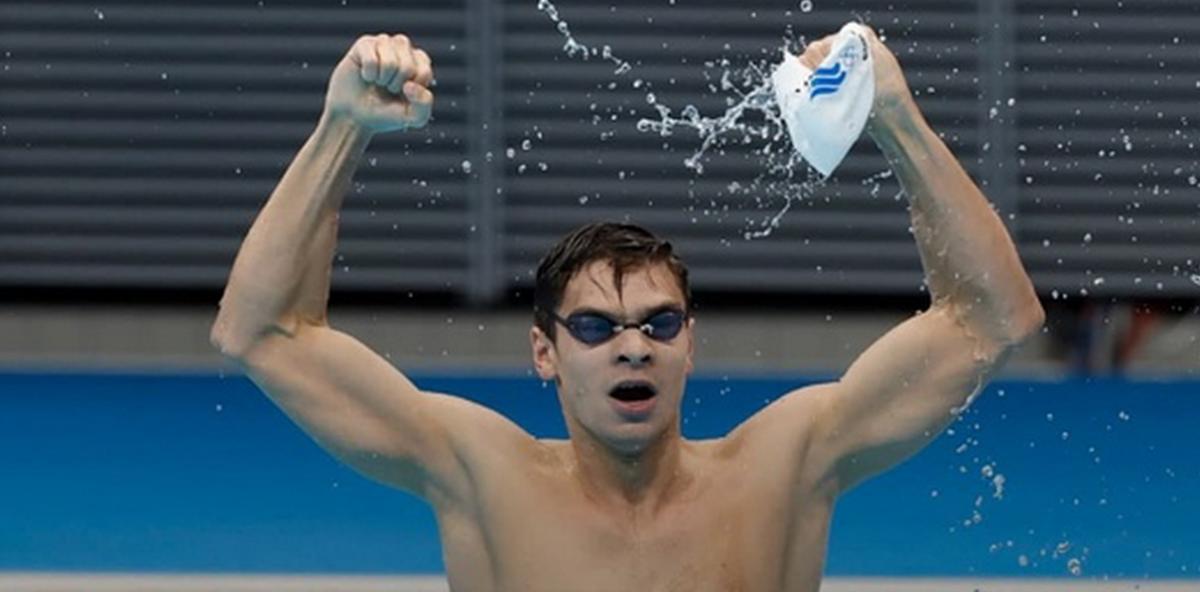 Пловец Евгений Рылов