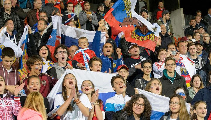 Сборная Российской Федерации пофутболу сыграла вничью сИспанией