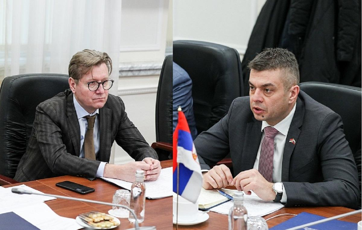 Сергей Левина и Богдана Игич