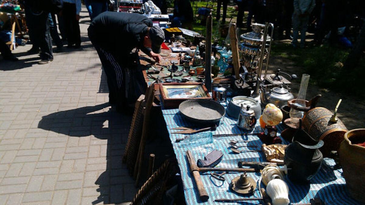 Рынок в парке Ростов