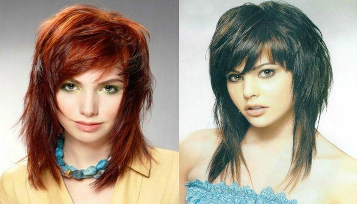 Рваная стрижка: фантастический объём для всех типов волос, фото стрижки на разную длину волос