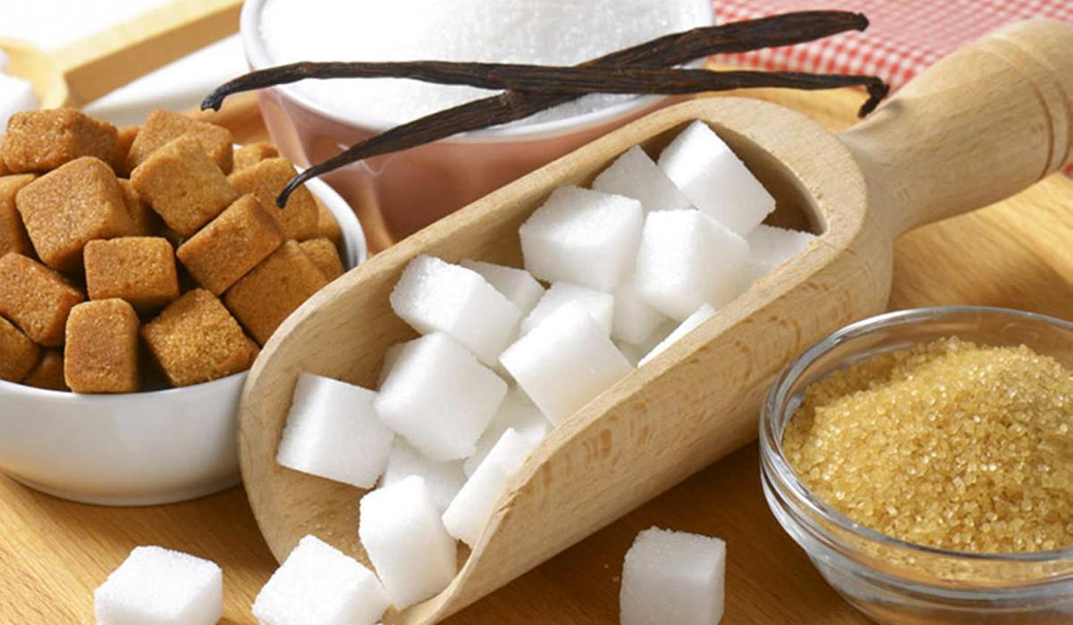 Сахар белый рафинад и коричневый