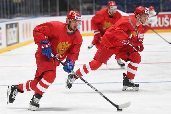 Сборная России по хоккею обыграла команду Австрии  на чемпионате мира