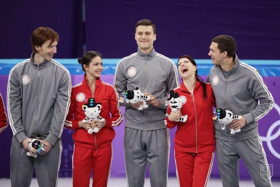 Фигурное катание на Олимпиаде-2018 - награждение россиян