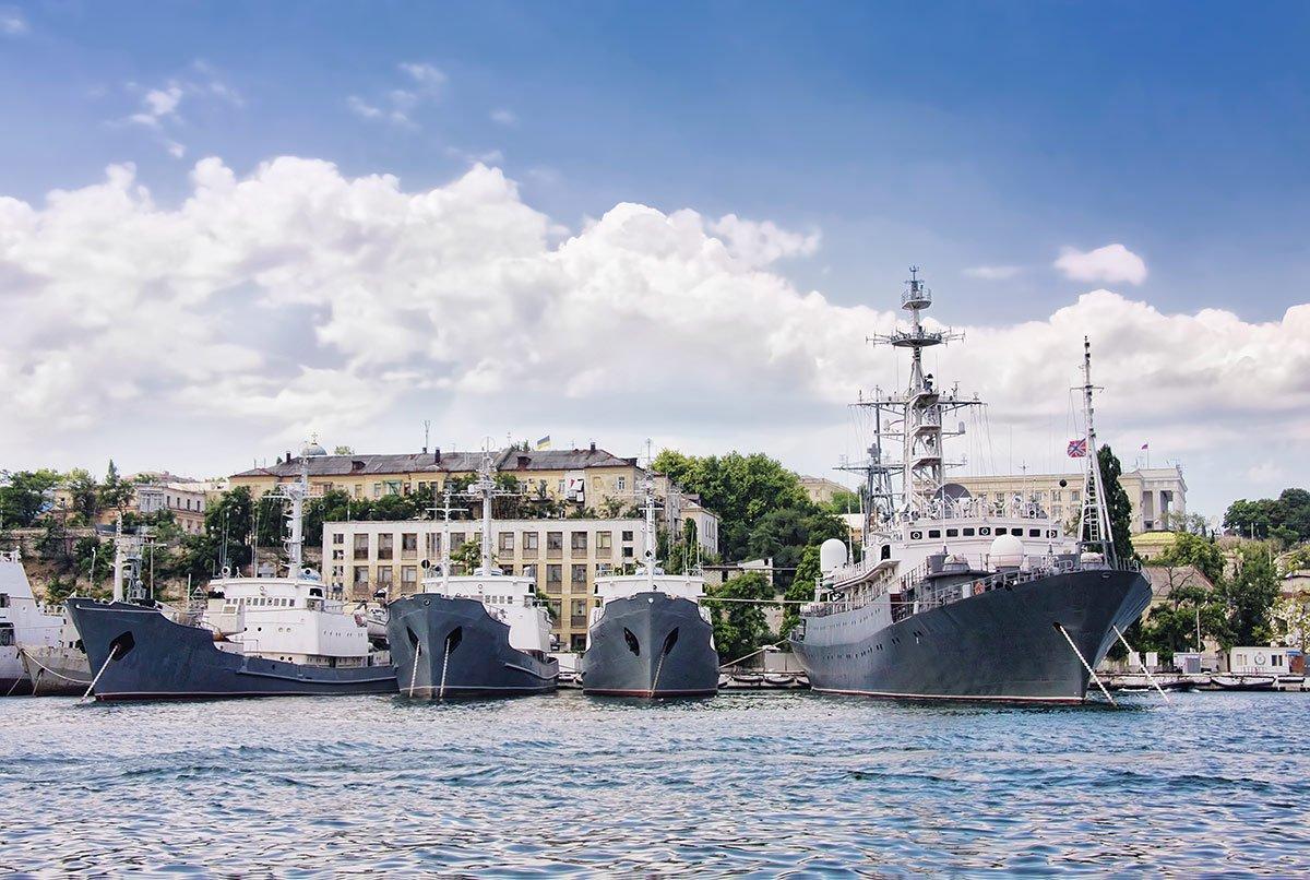 севастополь южная бухта корабли