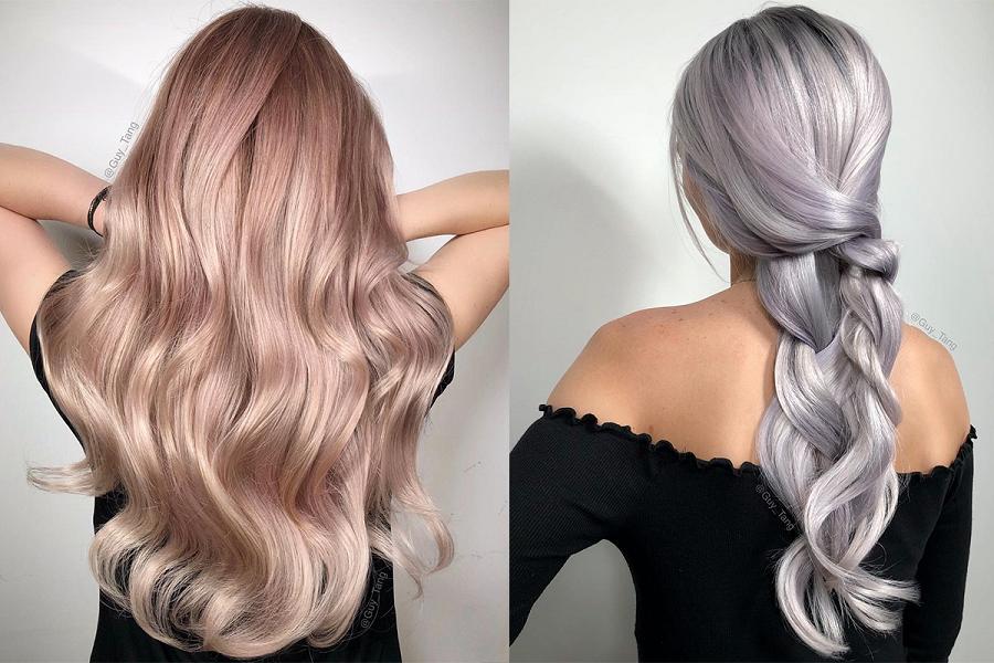 Шиммер – самое модное окрашивание волос 2019: изумительно смотрится на всех – блондинках, брюнетках и рыжих