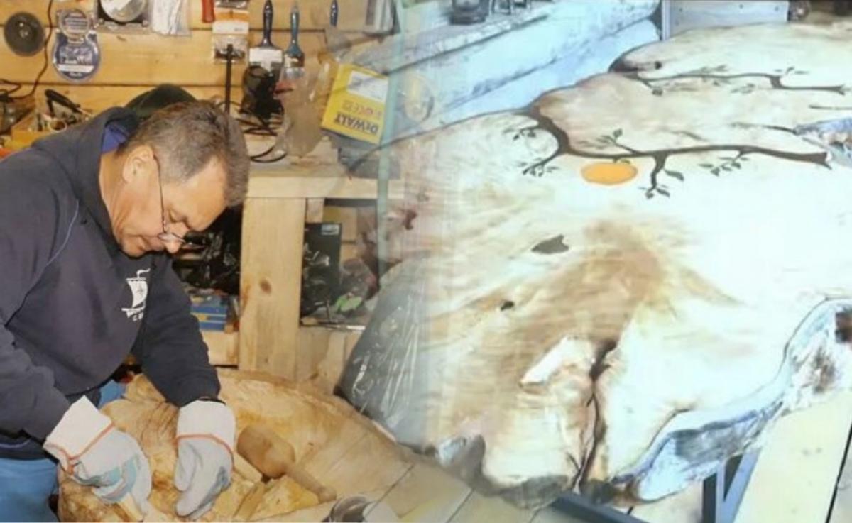 Работы из дерева  Шойгу продали на аукционе за 40 млн рублей