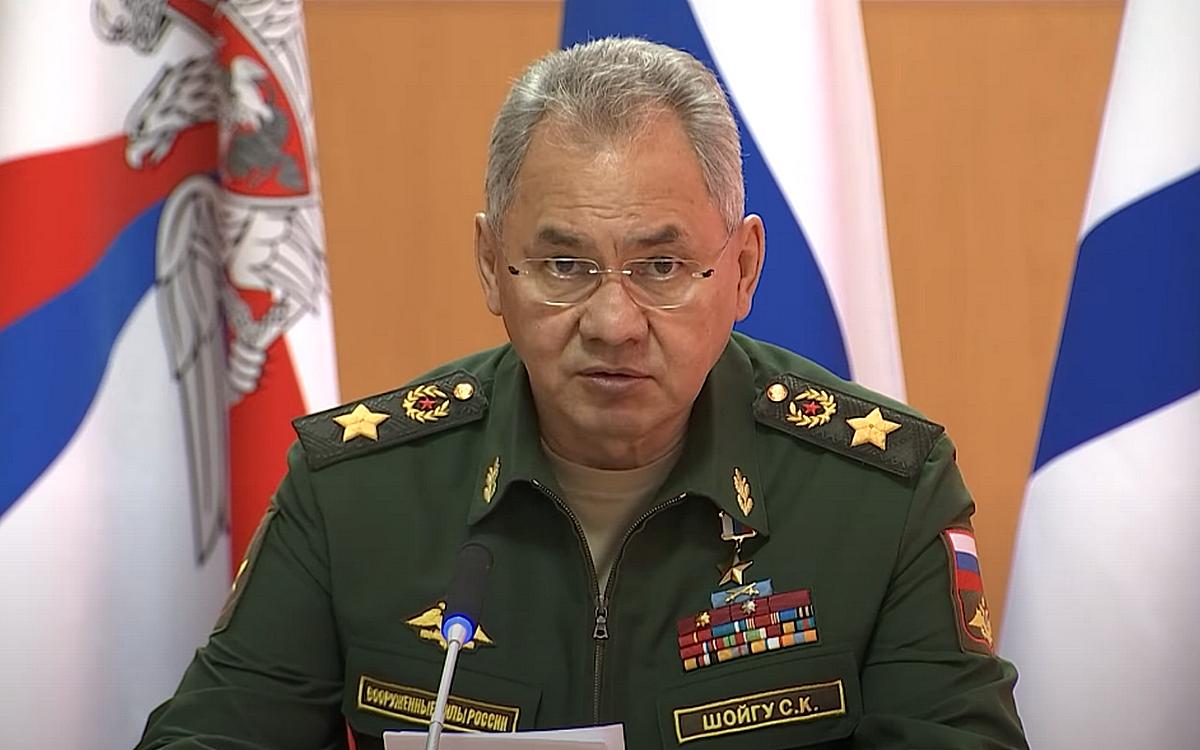 Шойгу рассказал, сколько войск США и НАТО переброшено к западным границам России