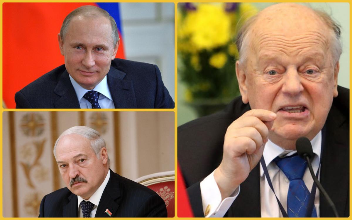 Шушкевич объяснил, почему Путин спасает Лукашенко