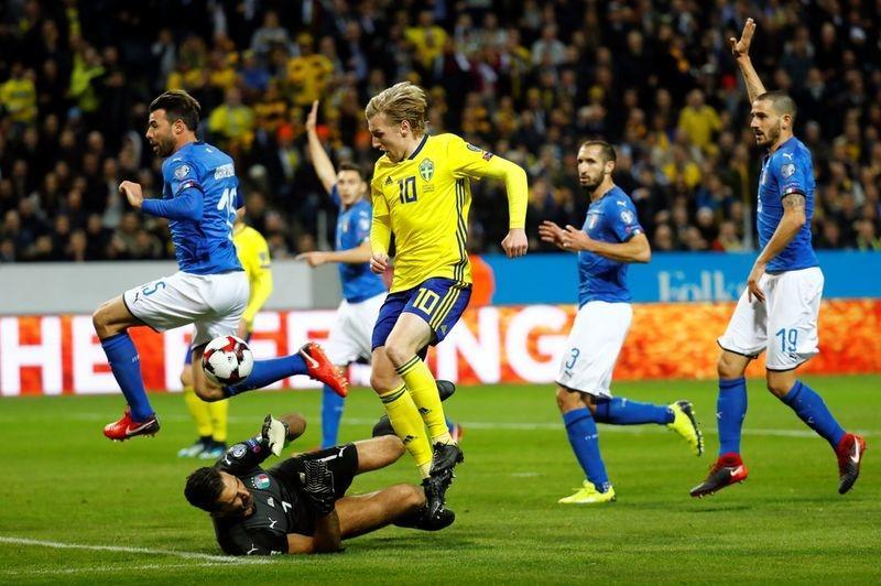 Италия-Швеция 13 ноября: прогноз на стыковой матч ЧМ-2018, ставки и коэффициенты букмекерских контор, где смотреть прямую трансляцию матча