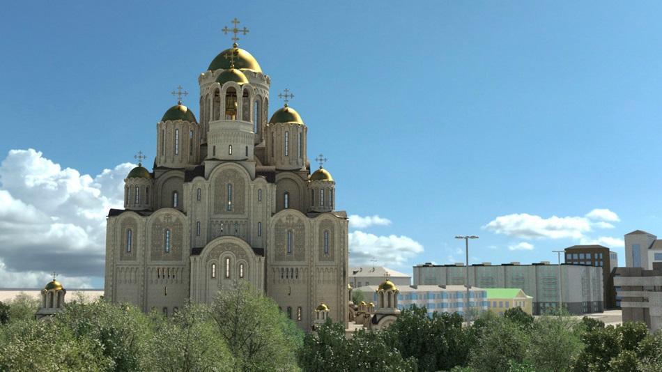 Мэр Екатеринбурга оставил сквер у театра Драмы в списке предложенных площадок для строительства храма