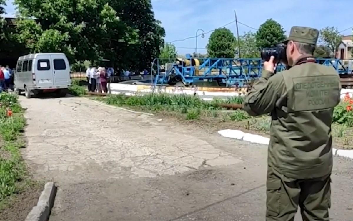Следователи на очистных сооружениях под Таганрогом