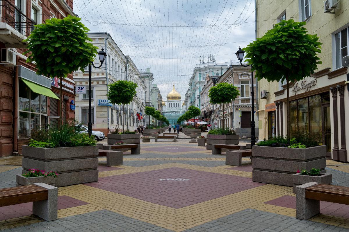 Переулок Соборный Ростов