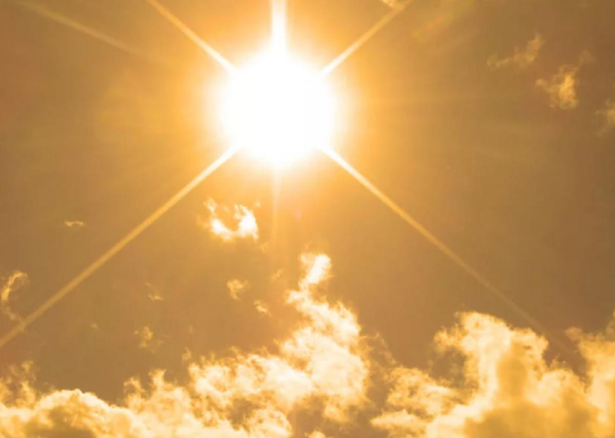 Солнце жара