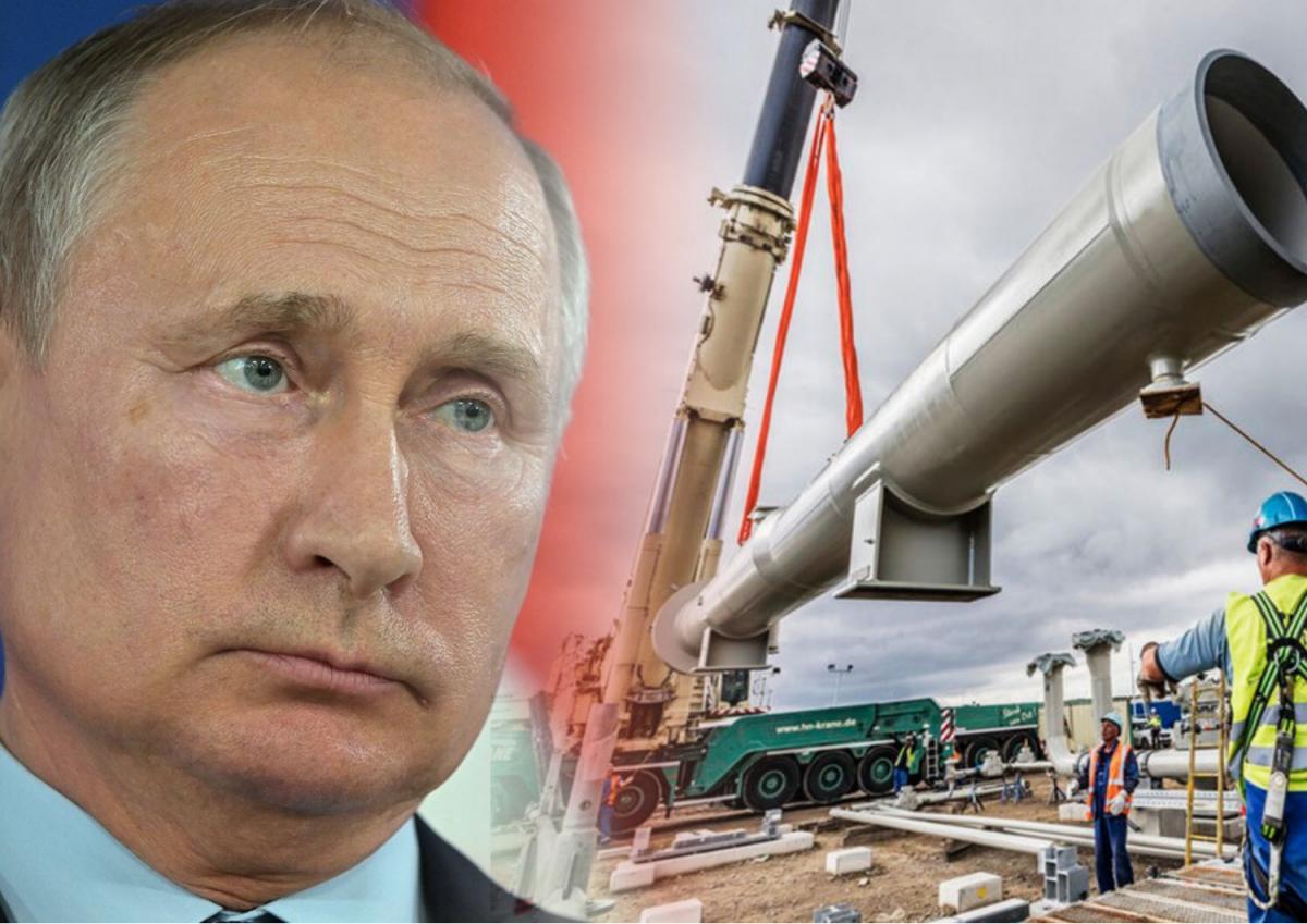 Украине предрекли газовый кризис из-за спора Путина по СП-2