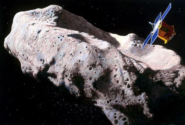 На астероиде Эрос найдена инопланетная станция