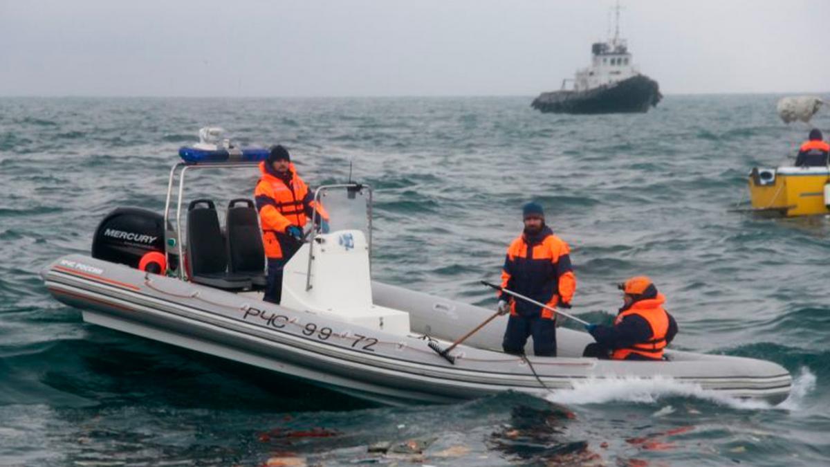 Российское рыболовное судно затонуло в Баренцевом море