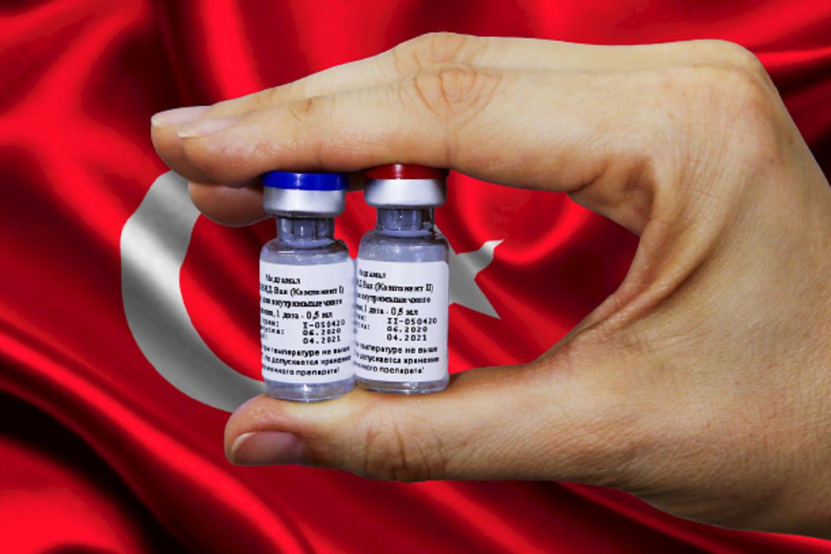 В Турции удалили статью об одобрении производства «Спутника V»