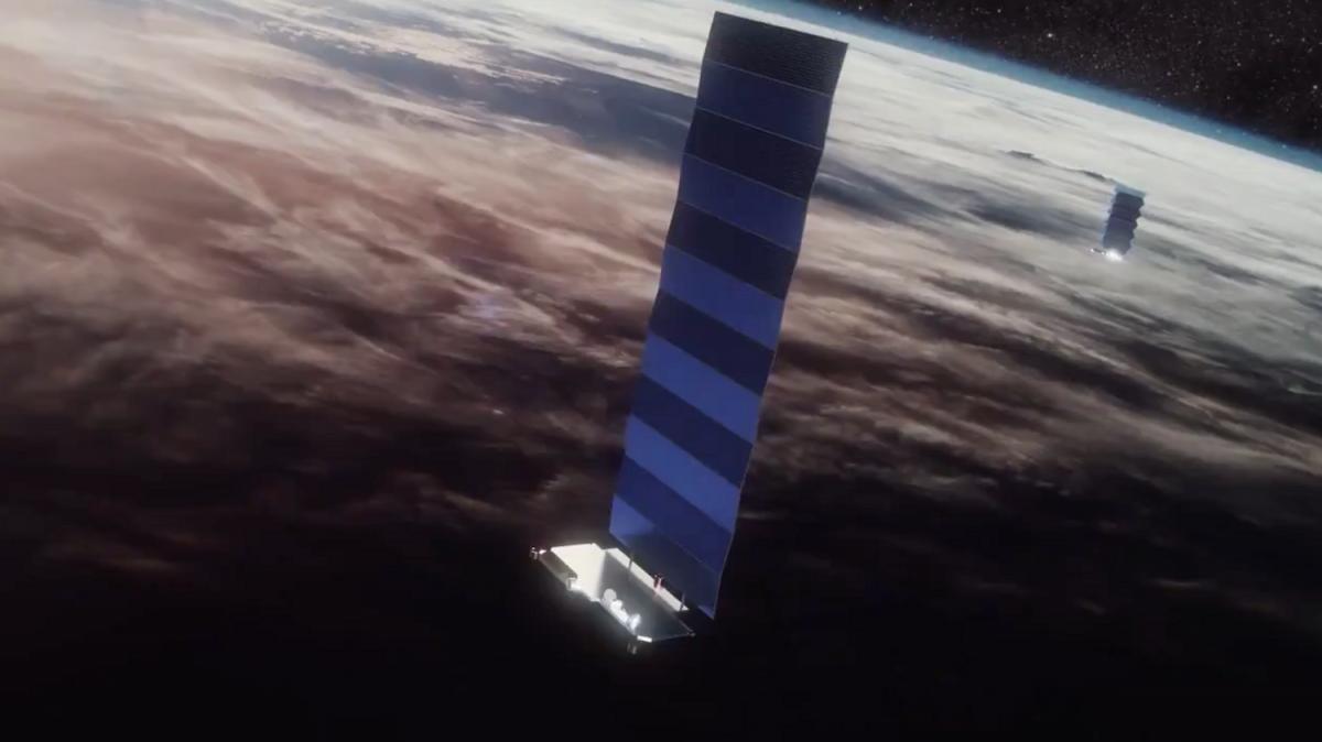 Илон Маск написал сообщение в Twitter с помощью спутникового подключения Starlink