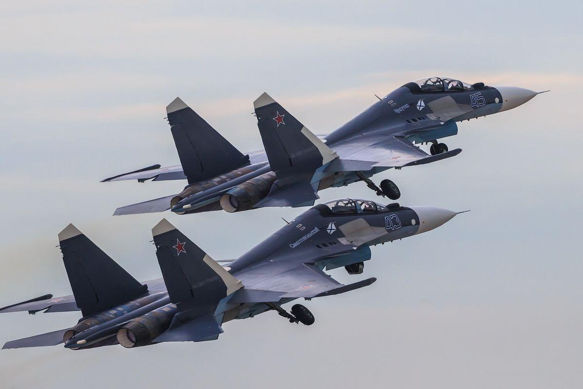 Су-30 отогнали истребители НАТО от границ Беларуси
