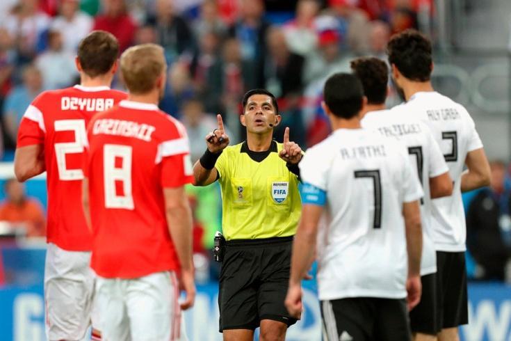 Египет обжалует судейство в матче со сборной России за «очевидные ошибки»