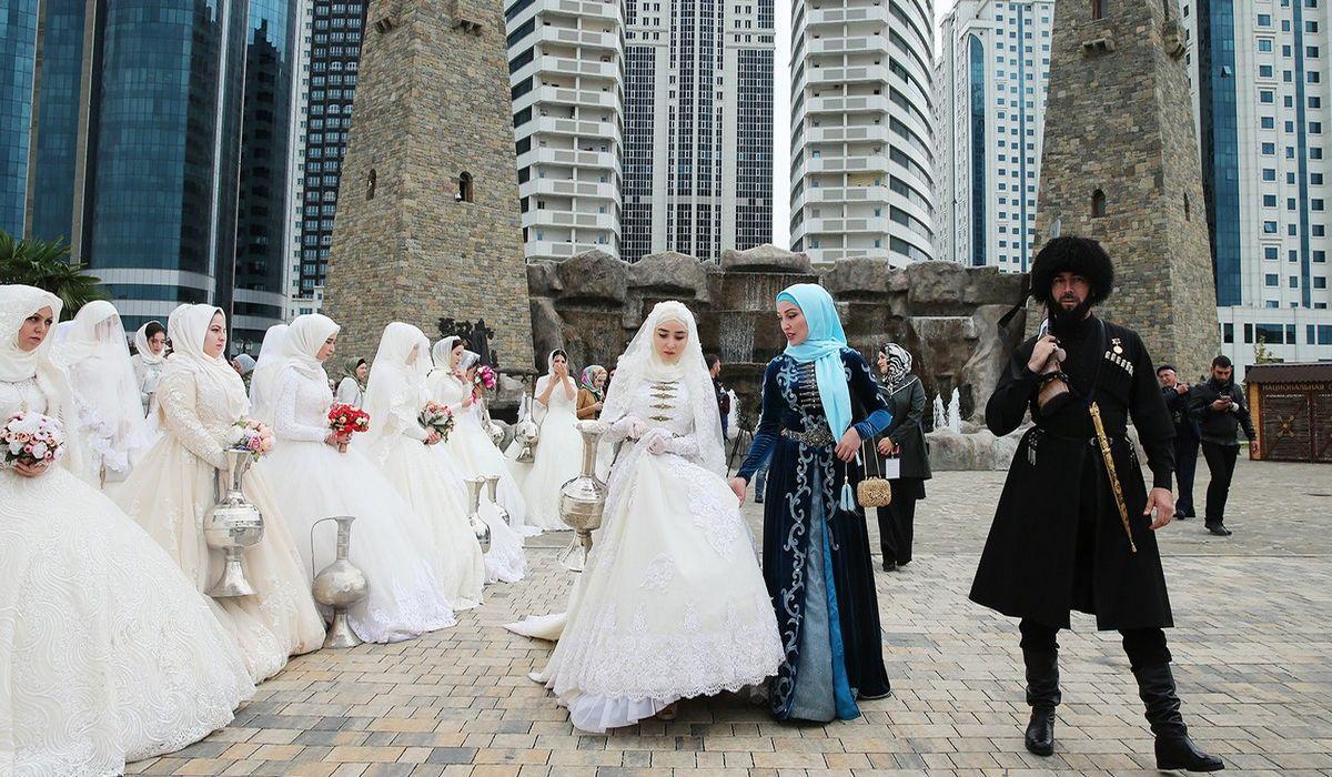 чеченская свадьба фото