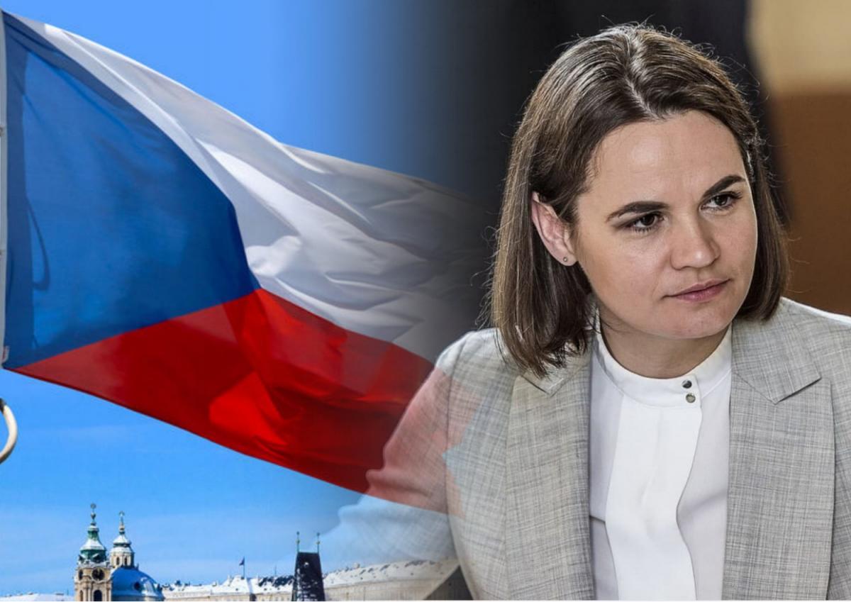 Тихановская обратилась к Чехии с призывом о Беларуси