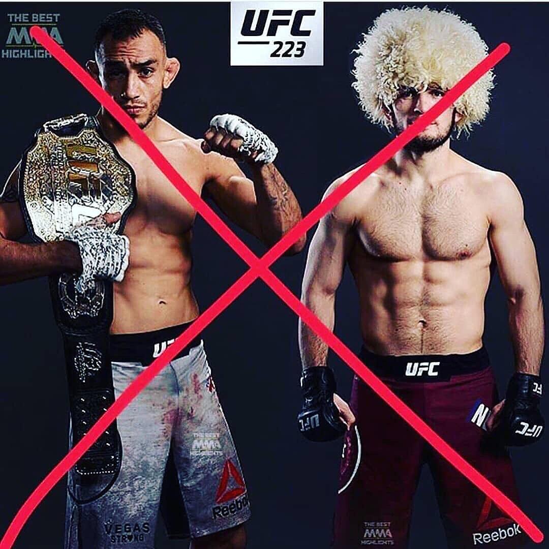Бой Хабиб Нурмагомедов – Тони Фергюсон на UFC 223 отменен: как изменится кард, когда новый бой – дата, заменит ли Тони Макс Холоуэй