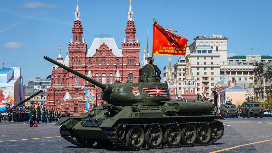 В Москву прибыла военная техника для Парада Победы