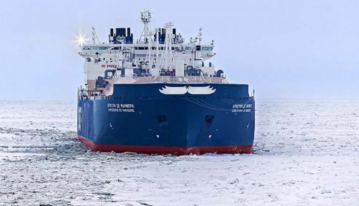 Маневр Росси с танкером «Кристоф де Маржери»