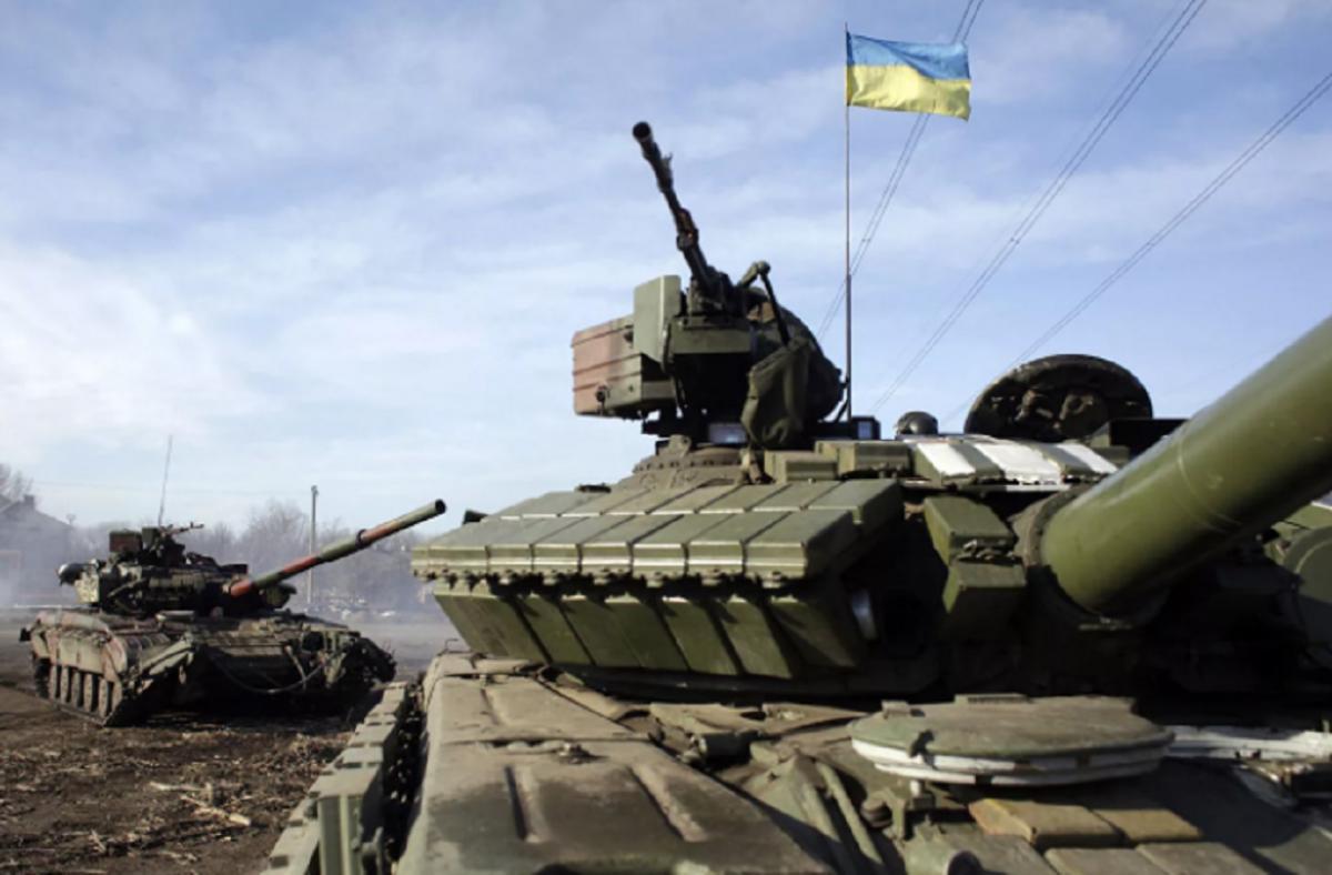 Россия заблокировала украинские танки в Донбассе