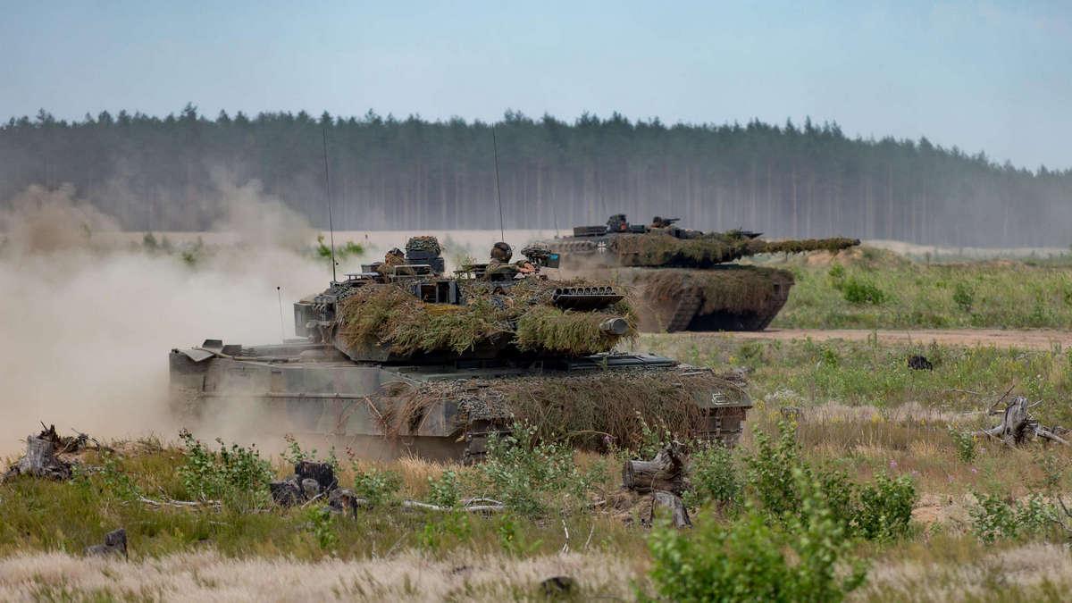 В Литве на границе с Белоруссией стартовали учения с танковой дивизией из Германии