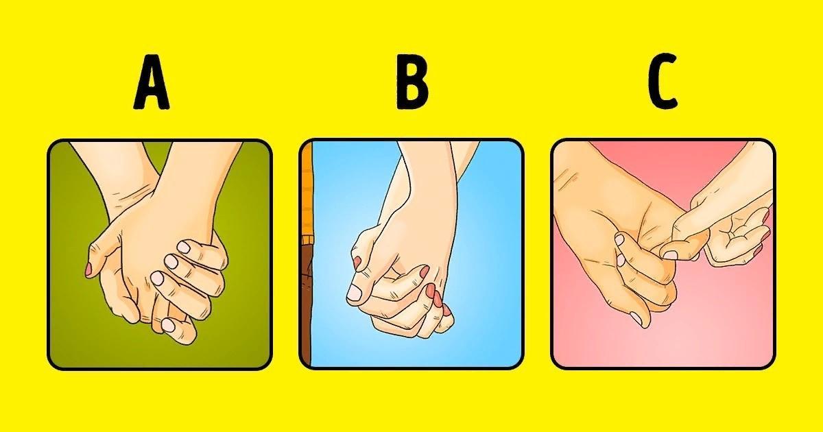 тест легкий быстрый на отношения как вы держитесь за руки язык жестов язык тела