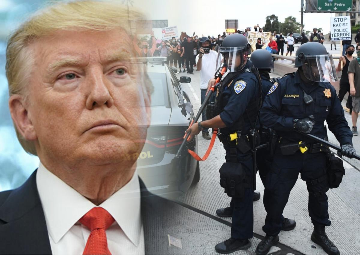 Дональд Трамп и полиция США