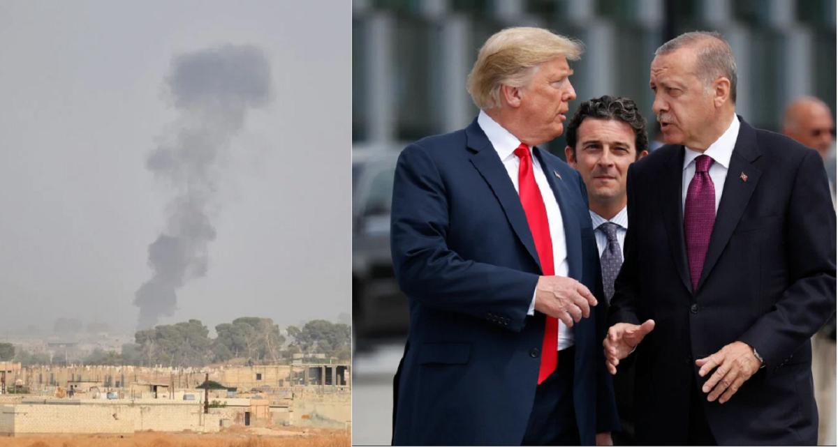 Трамп осудил военную операцию Эрдогана в Сирии