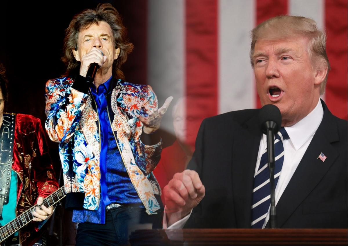 The Rolling Stones и Трамп