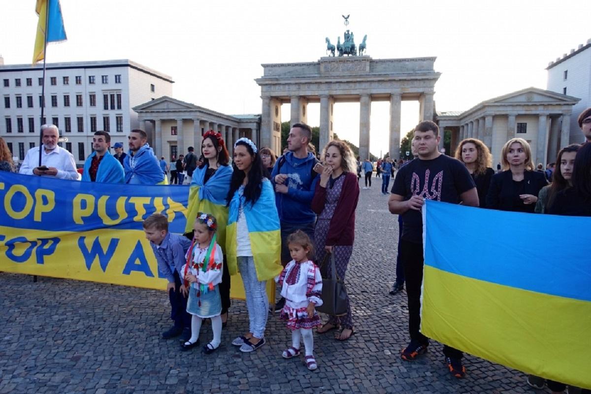 Украинцы немцы россияне