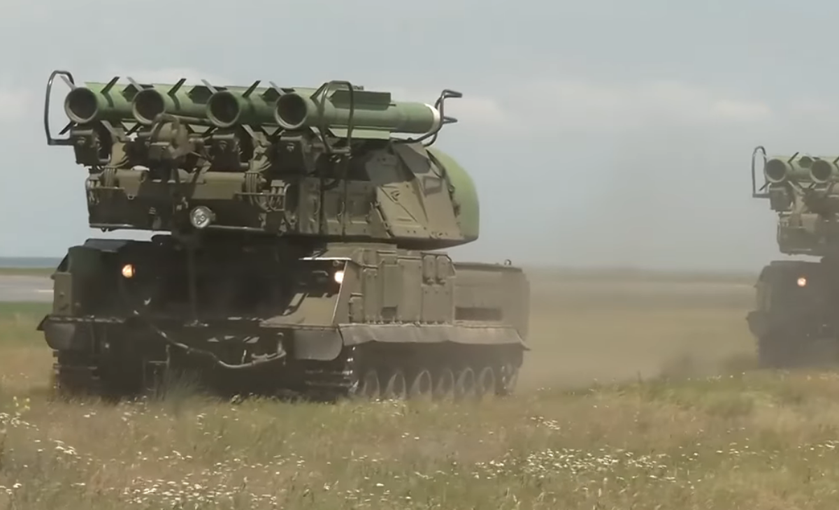 "ЗРК ""Бук"" украинской армии"