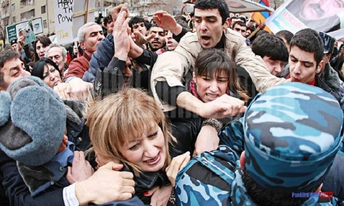 Армения протест