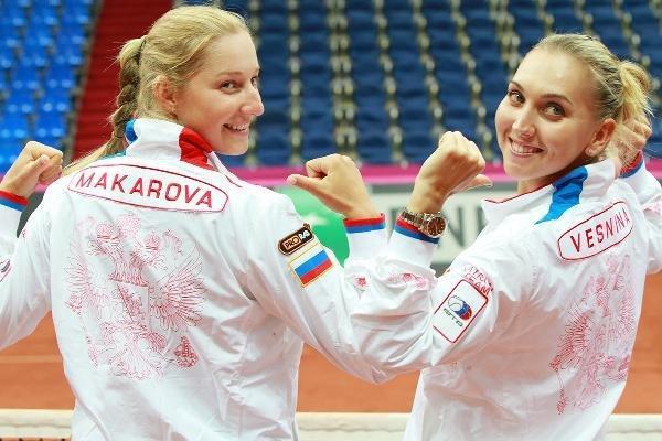 Веснина и Макарова принесли России первое в истории золото Игр в парном теннисе