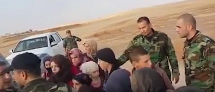 Бойцы сирийской армии освободили из плена террористов 19 женщин и детей