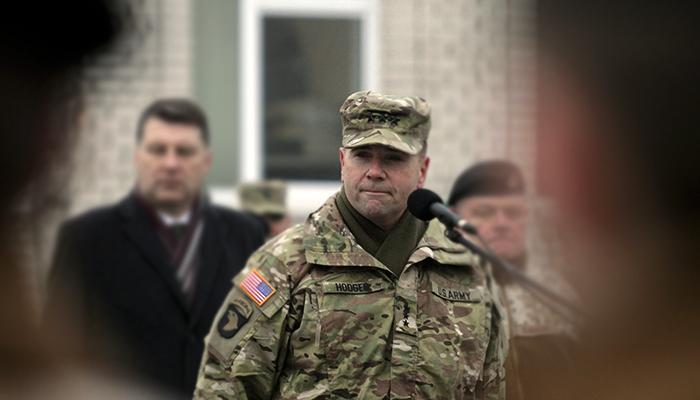 Американская делегация посетила прифронтовые районы в Донбассе