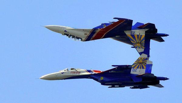 Самолеты российских ВКС