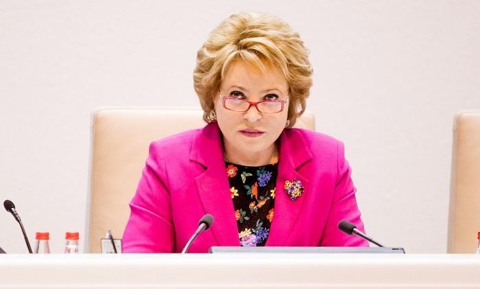 Матвиенко увидела  разницу взарплатах мужчин иженщин