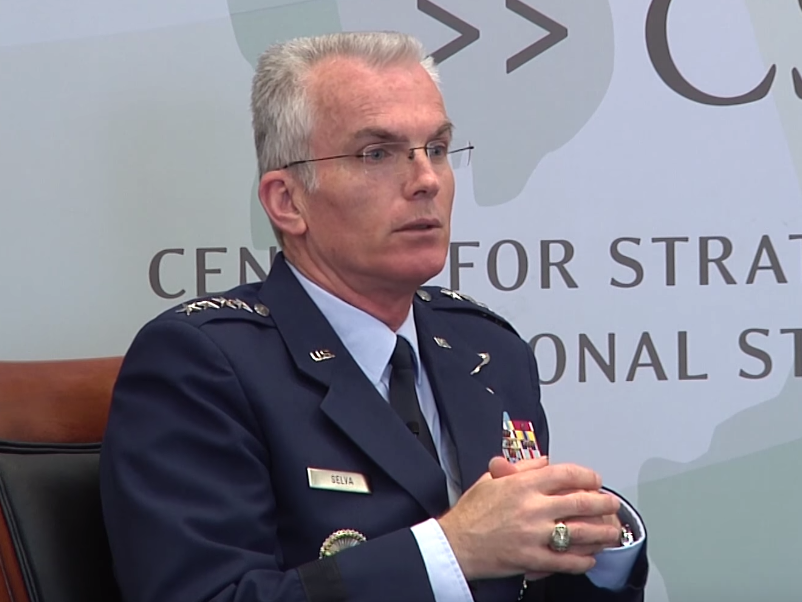 Американский генерал Пол Сельва