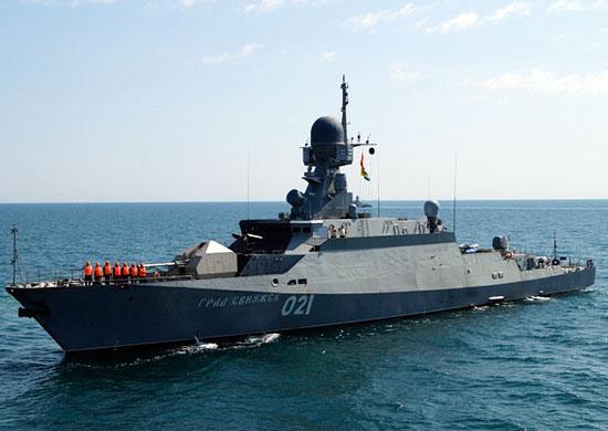Корабль каспийской флотилии