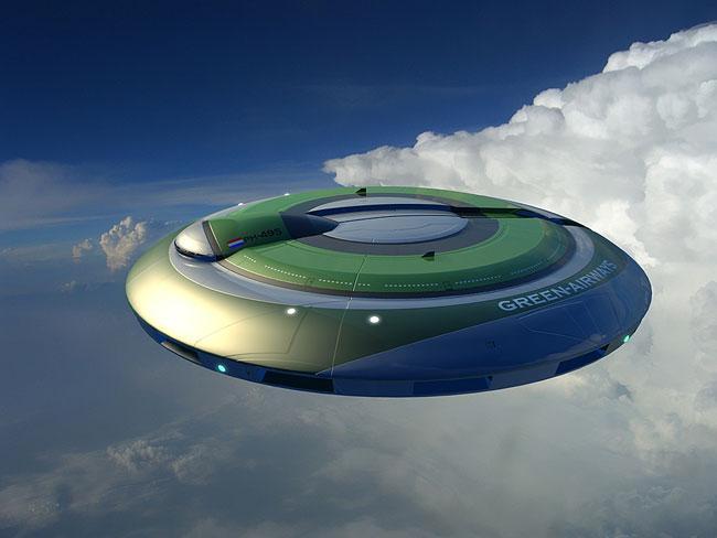 НЛО стер с неба конденсационный след от самолета