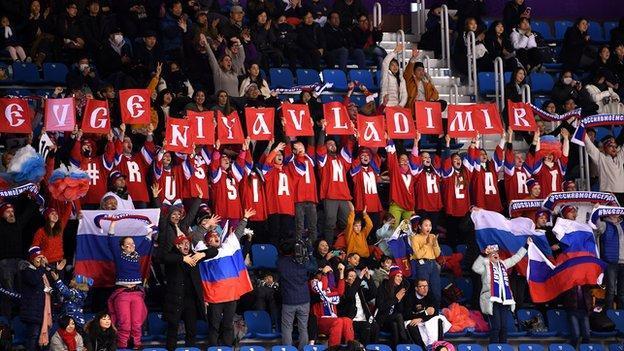 Американский журналист: МОК хотел унизить Россию, но русские болельщики унижают МОК