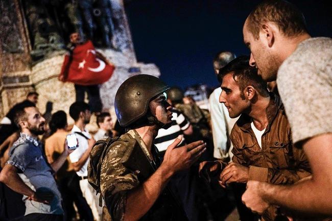 Путч в Турции