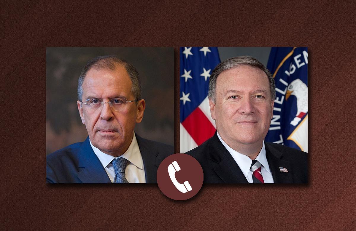 Лавров и Помпео обсудили ряд политических вопросов – СМИ